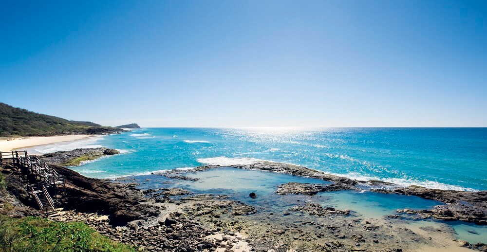 The Gorgeous beaches of Fraser Island