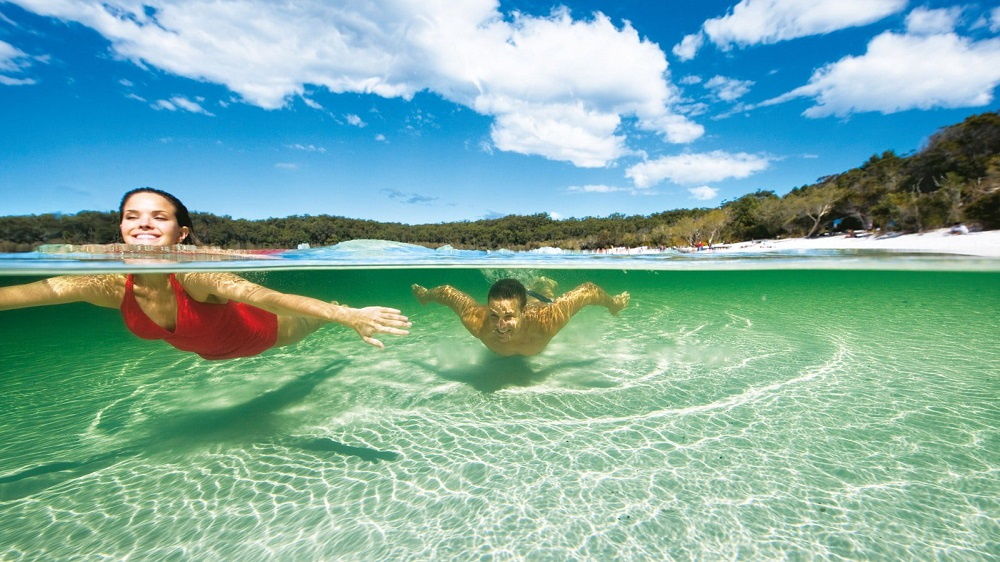 The Best Swimming Spots on Fraser Island