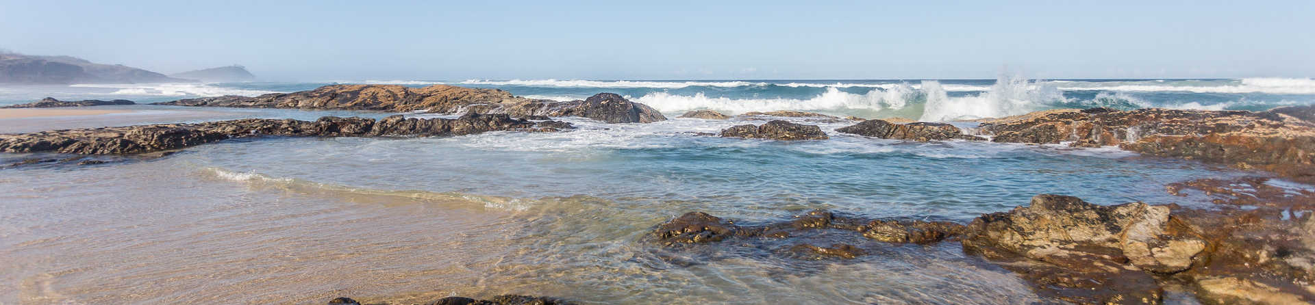 Can you swim in the Champagne Pools?